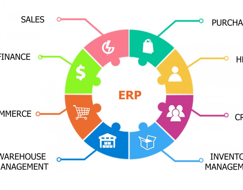 هزینه واقعی ERP